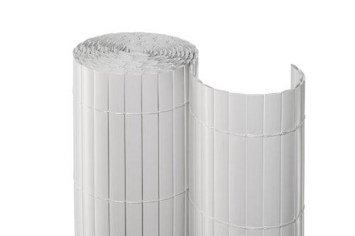 Noor Sichtschutzmatte PVC Weiß 090 x 3 m