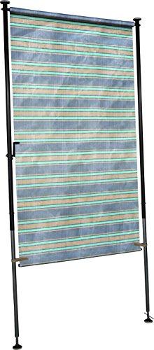 Angerer Balkon Sichtschutz Nr 3300 blau 120 cm breit 23183300