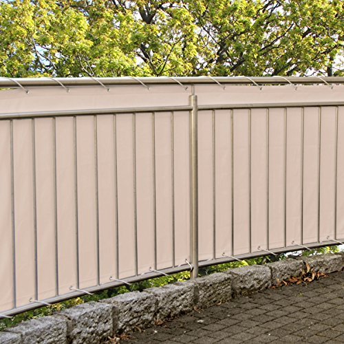 Balkonsichtschutz 600 x 90 cm