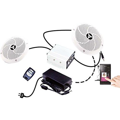 Karibu Sauna Musikanwendung Premium inkl Lautsprecher
