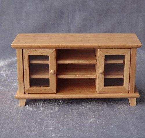 BLxi Miniatur Möbel Holz TV-Schrank Puppenhaus Decor