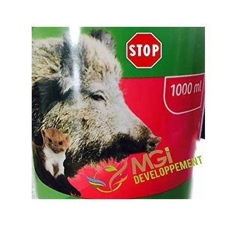 Abwehrmittel gegen Wildschweine 1°l Schutz gegen Wildtiere