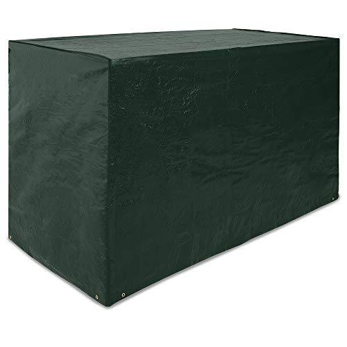 Deuba Abdeckung Barset 187x86x112cm  Wetterfest Schutzhülle PE  Tisch Stuhl Garten Gartenmöbel Plane