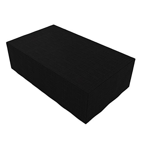 Modrine Outdoor Möbel Abdeckung Gartenmöbel Schutzhülle Abdeckplane für Terrassenmöbel im Set für draußen für den Garten Terrasse 320x191x94cm
