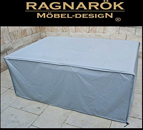 Ragnarök-Möbeldesign Schutzabdeckung Gartenmöbel Schutzhülle für Modell HEIMDALL 64 Husse schwere LKW Plane Maßgefertigt Wetterschutz Abdeckung Abdeckhaube