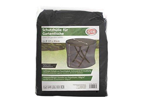 Unbekannt LEX Schutzhülle für Gartentisch rund 125 cm Tisch Hülle Schu