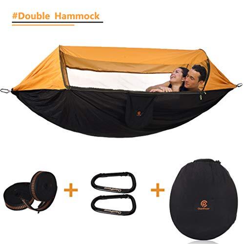 3 in 1 Hängematte mit Moskitonetz  Outdoor Winddicht Keine Mücken Sonnenschutz  für Wandern Camping Reisen Jagd By ChantPower