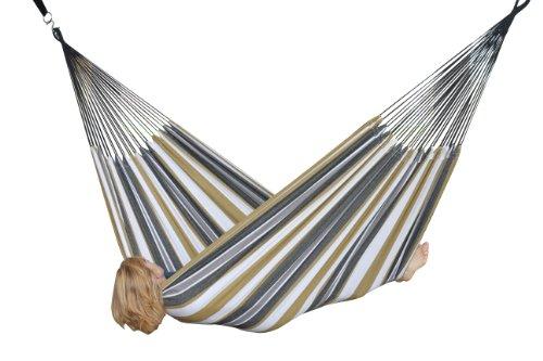 Vivere BRAZ225 Hängematte Doppel Baumwolle Wüstenmond mehrfarbig