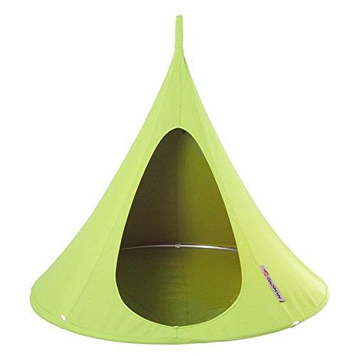 Kinder Cacoon Bonsai Leaf Green grün Hängematte Hängesessel Sonnenschutz Gartenmöbel Relaxliege Hängeliege Outdoor Indoor Garten Kinderliege Kindersessel Kinderzimmermöbel