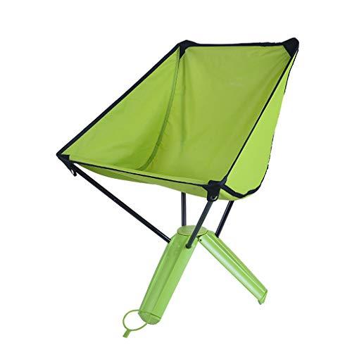 Outdoor Klappstuhl tragbare Picknick Grill Bank Angeln Hocker Freizeit Stuhl New Triangle Stühle Hocker Farbe  Green