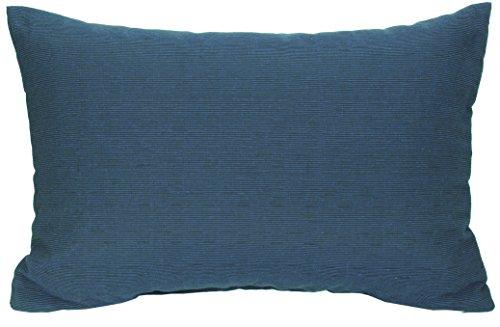 Beo Rückenkissen Zierkissen Struktur Dunkelblau für Lounge Gruppen ca 60 x 40 cm