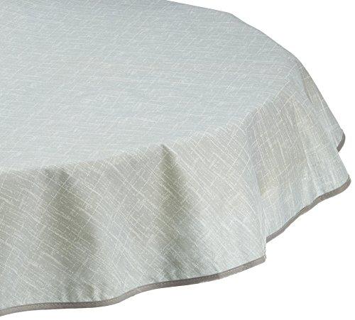 BEST Tischdecke rund 130 cm grau