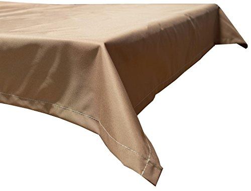 beo Outdoor-Tischdecken wasserabweisende eckig 110 x 140 cm sand