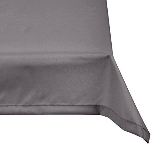 beo Outdoor-Tischdecken wasserabweisende eckig 76 x 76 cm hellgrau