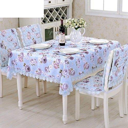 DHG Garten Tischdecke Stoff Tischdecke Längliche Tischdecke Spitze TischdeckeB 150x220cm 59x87inch