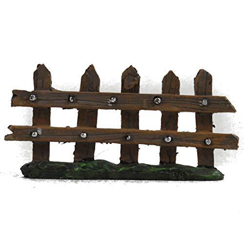 10 cm langer Mini-Gartenzaun zur Dekoration von Heim und Garten Tolle Geschenkidee für Fans von Hobbits und Elfen-