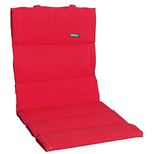 Madison 7FIBLB220 Panama Textil Auflage für Sessel niedrig 75 Baumwolle 25 Polyester rot
