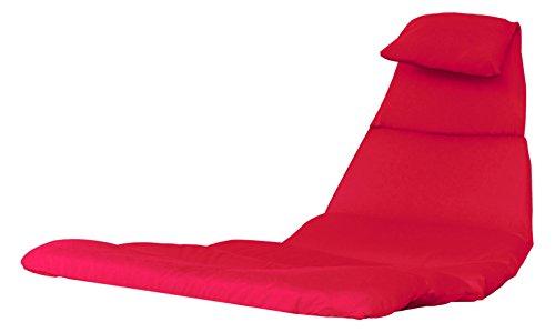 Vivere DRMC-CR Hänge Sessel Kissen Polyester Rot
