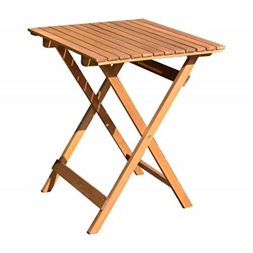 Klapptisch BTH ca 585875  Balkontisch Balkon-Möbel Gartenmöbel Hartholz Tisch quadratisch Garten Mod DIEGO …