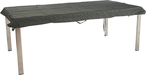 Stern Schutzhülle für Gartenmöbel Tische uni grau 213 x 113 x 5 cm 11 ml 454822