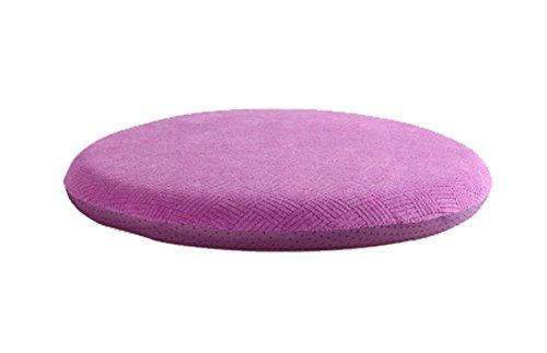 Black Temptation Bequeme Memory-Baumwolle Runde Kissen gepolsterte Stuhl Kissen Pink