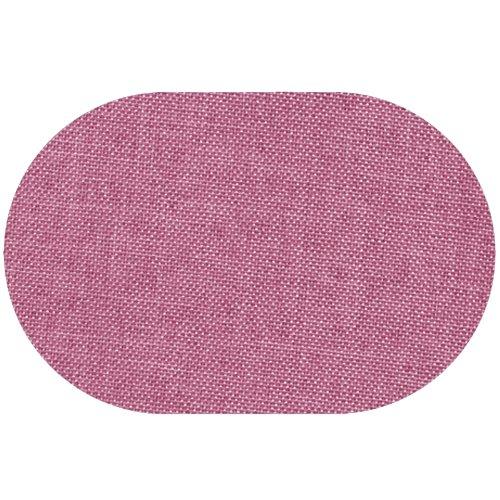 Premium Leinen Optik Oval 160 x 220 bzw 160x220 bzw 220x160 cm Altrosa  Rosa Tischdecke Garten mit Lotus Effekt Tischwäsche von DecoHometextil - Altrosa  Rosa