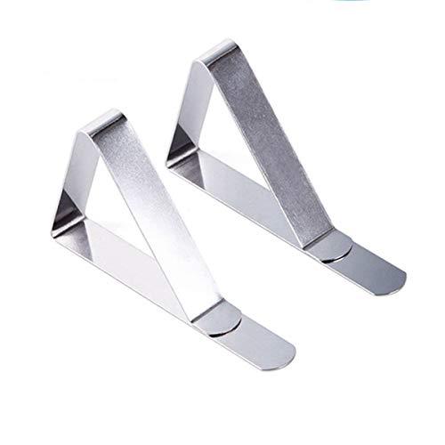 12PACK 45mm Edelstahl Tischdecke Clips Metallklammern Klammern Table Clip Tischtuch Clips Tischdeckenklammern Tischdecken Set zum Klammer Befestigen Tischtuchhalter Tischtuchklammer Tischtuchklammern