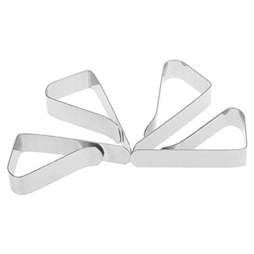 FURU Tischclips Tischtuchhalter Ideal4st Tischdecke Tischdecke Clip Klemmhalter für Party Hochzeit Edelstahl