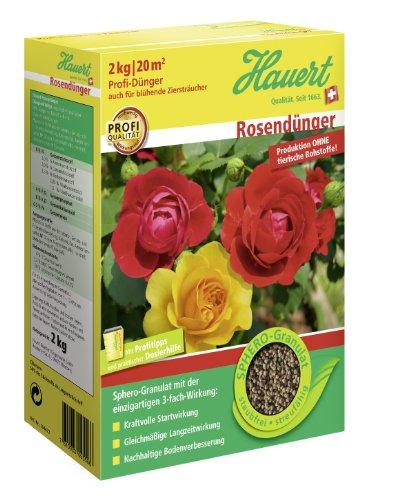 Hauert HBG Dünger 107302 Rosendünger 2 kg Sphero-Granulat