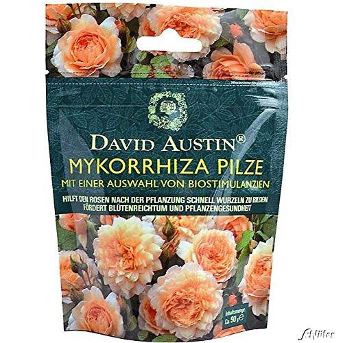 Mykorrhiza Pilze von David Austin - organisch wiederverschließbar Biostimulanzien Rosendünger - 90g