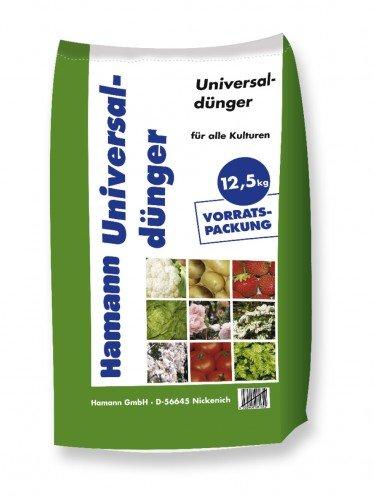 Universaldünger 125 kg Sack - organisch-mineralischer Volldünger für Gemüse Obst Blumen und Zierpflanzen