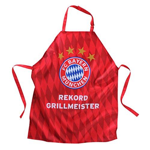 Schürze Grillmeister FC Bayern MÜNCHEN  gratis Sticker München forever - Apron Grill Master Munich  delantal  tablier Grillschürze
