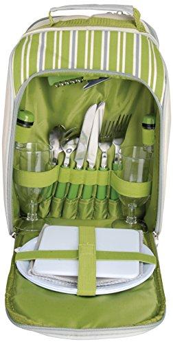 Esschert Design EL Picknick Kühltasche 2 Personen grün 262 x 154 x 335 EL054