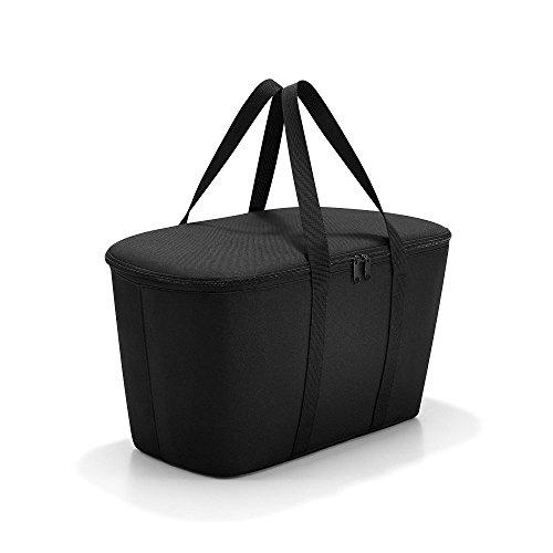 Kingsler 22L Kühltasche Schwarz  45x25x25cm  Einkaufstasche faltbar  Isoliertasche  Faltbare Kühltasche  Kühlbox  Picknicktasche  Campingtasche  Eistasche  Sport  Reisen  Outdoor  Auto
