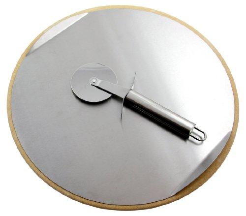Pizzastein für Grill und Backofen Ø 33 cm inkl Pizzaschneider