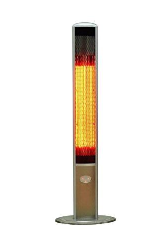 OutTrade Elektrische Heizung Slimline Grau 160 cm