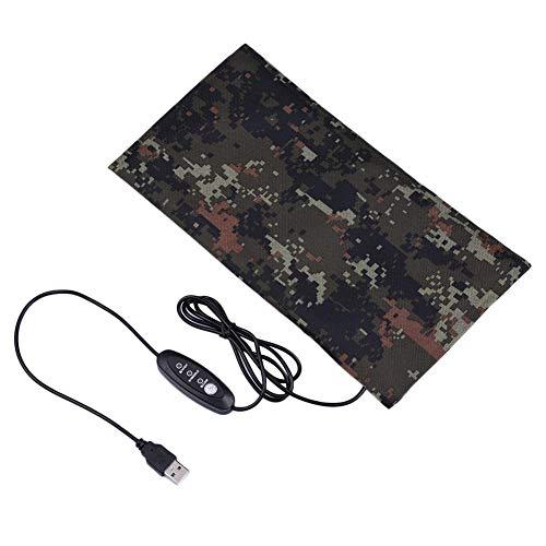 SinceY Reptile Heizkissen In Cold Schnelle Heizung Einstellbare Temperatur Elektrische Heizdecke Mit USB-Kabel - Hilfe Zur Verbesserung Der Schlafqualität Für Haustiere