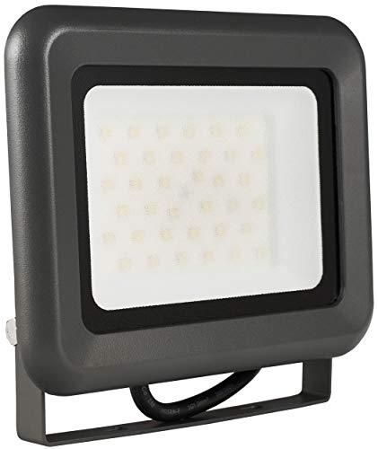LUMIRA LED Fluter 30W Ersatz für 300W Flutlicht-Strahler Außen-Leuchte für Innen- und Außenbereich IP65 Neutralweiß