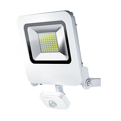 Osram LED Endura Flood Sensor Fluter für Außenanwendungen integrierter Bewegungssensor Warmweiß 257 0 mm x 201 0 mm x 63 0 mm