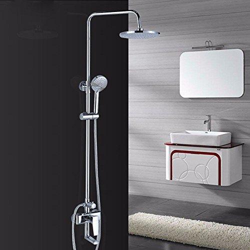 Dusche Wasserhahn ZQG Blume Dusche Dusche Set Alle Kupfer hängen Wand Typ Dusche Badezimmer Dusche Set