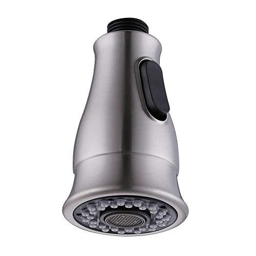 LOSKDMMJIO Wasserhahn-Multifunktionsmodi Ziehen Spray Kitchen Wasserhahn Ersatz Dusche Sprüh Kopf ABS Plastik Küche DuschkopfA