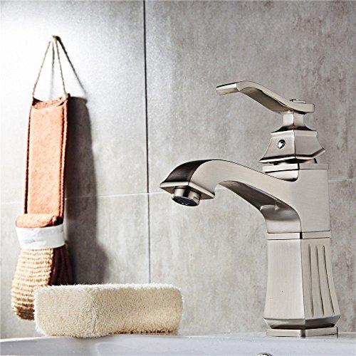 High-End-Kupfer Materialzeichnung Galvanik Schwarz alte Quadratische Platte Waschbecken Waschbecken Wasserhahn