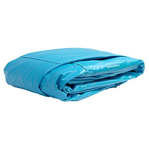 POOL Total Innenhülle Rundpool Ø 350 x 090 m überlappend  Stärke 025mm blau