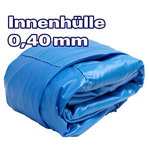POOL Total Innenhülle Rundpool Ø 350 x 090 m überlappend  Stärke 040mm blau