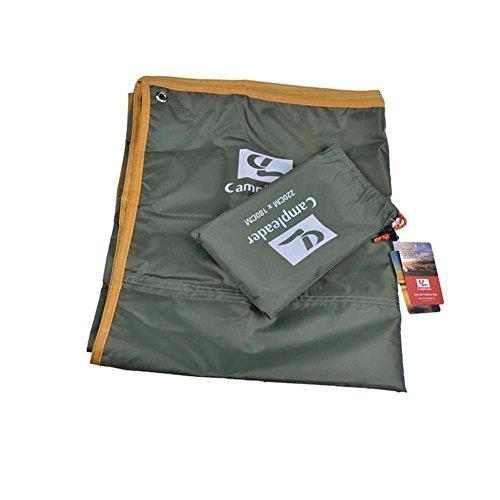 rungao Outdoor Feuchtraum Camping Matratze Wasserdicht Tuch Zelt Pad Picknick Matte Multifunktional Regendicht Cover Poncho S grün