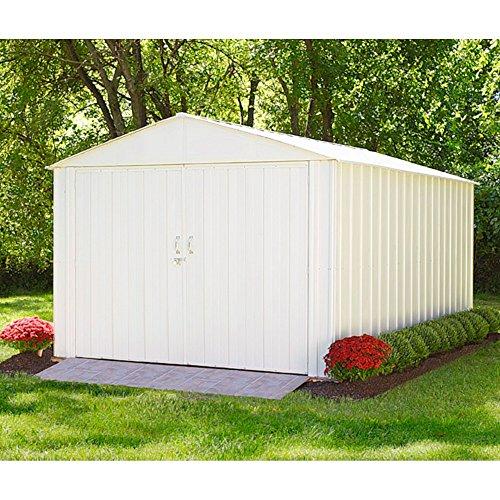 Arrow Metall-Gerätehaus Commander 1010 Gartenhaus Schuppen Garage 94 m²