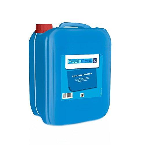 12 Kg - PoolsBest Chlor-Flüssig Flüssigchlorbleichlauge
