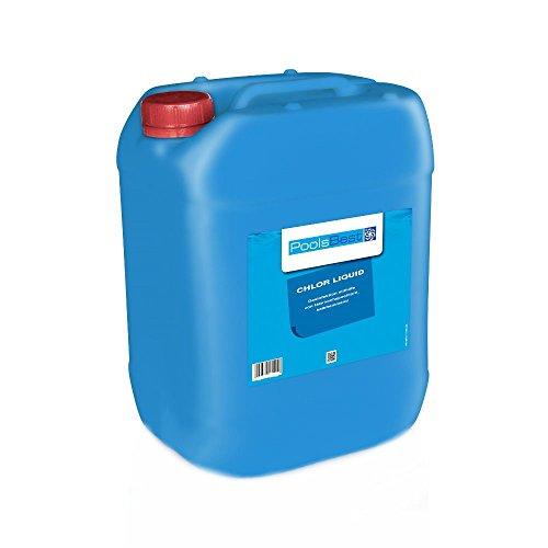 25 Kg - PoolsBest Chlor-Flüssig Flüssigchlorbleichlauge