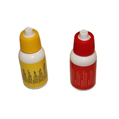 Nachfüllset für Pool Wassertester flüssig für Chlor pH von Duraol