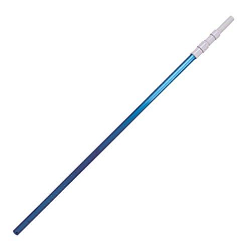 Jilong Alu Pool-Stange 280 cm 3-teilig Ø 30 mm Aluminium Teleskopstange Poolstange Poolreinigungsstange zur Poolpflege Pflege der Wasserqualität